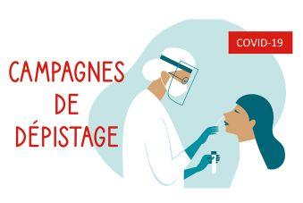 COVID-19 : Les campagnes de dépistage en Pays de la Loire